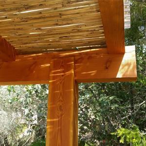 פרגולה עץ דאגלס - ראשי