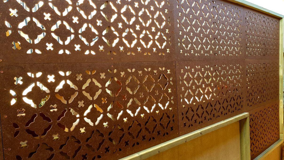 גדר הפרדה ממשרביות עץ